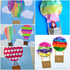 hot air balloon decorations 5 awesome hot air balloon crafts i heart crafty things