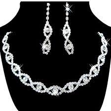 jewelry set rhinestone fashion jewelry sets ebay
