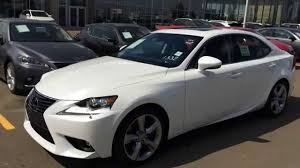 2015 lexus is350 f sport for sale calgary new white on black 2014 lexus is 350 awd executive package