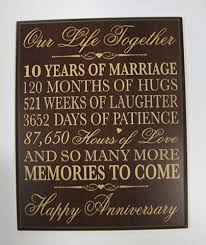 10th anniversary gift ideas for him best 25 10th anniversary gifts ideas on 10 year