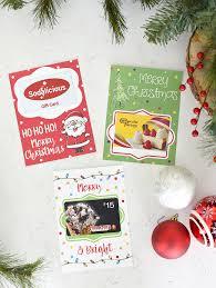 christmas holders printable christmas gift card holders squared