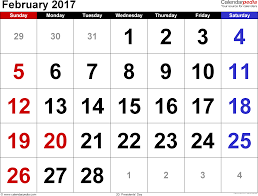 presidents day writing paper february 2017 calendars for word excel pdf february 2017 calendar