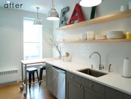 Clean And Airy Kitchen Makeover - Simple kitchen makeover