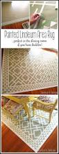 Remnant Rugs Cheap Diy Dining Room Area Rug Painted Linoleum Reality Daydream