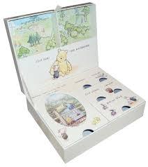 baptism memory box new winnie the pooh newborn baby keepsake box memory boy girl