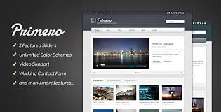 templates for video website primero video site template by progressionstudios themeforest