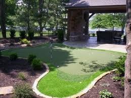 Backyard Putting Green Designs by 17 Best Putting Greens Images On Pinterest Backyard Putting