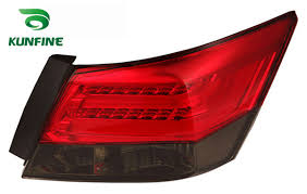 2009 honda accord brake light bulb kunfine pair of car tail light assembly for honda accord 2008 2012
