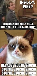 Internet Meme Song - grumpy cat cheers kelly song imgflip