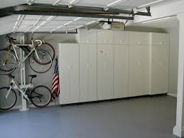 idea for detached garage conversions ideas inspirations aprar white cabinet idea for detached garage conversions that can be decor with grey modern floor can