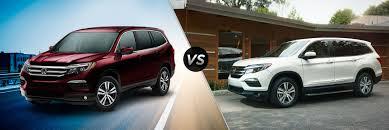 honda pilot size comparison vehicle comparison honda pilot ex vs ex l