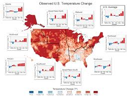 United States Climate Map by Nine Maps That Show How Climate Change Is Already Affecting The Us