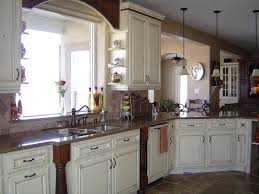 Country Decorating Ideas For Kitchens by Stunning White Country Kitchen Cabinets Beadboard Cabinetsjpg