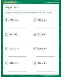 math worksheets for 6 graders worksheets