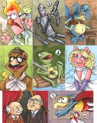 muppet and wars cards by katiecandraw on deviantart