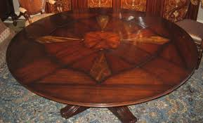 round dining room tables with self storing leaves 22 jupe table with self storing leaves center pops up