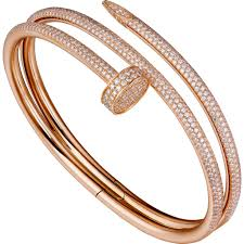 cartier bracelet pink gold images Cartier juste un clou bracelet pink gold 624 diamonds best jpg