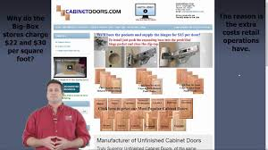 cheap kitchen cabinet doors save half off retail youtube