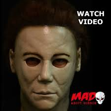 michael myers mask halloween official michael myers h20 halloween 7 latex collectors mask