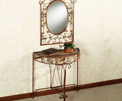 Venetian Mirrored Console Table Extraordinary Mirror For Ginkgo Console Table To Staggering