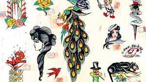 discover the art and history of ink in u0027vintage tattoo flash