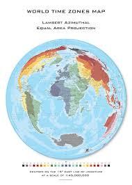 Azimuthal Map Mapsherpa Oxford Cartographers