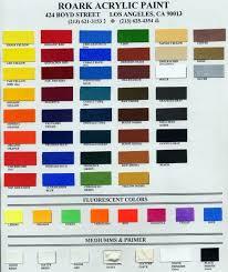 roark acrylic paint color chart फ ट द व र remus28