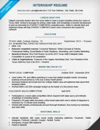 Sample Student Resume For Internship by College Student Cover Letter Sample U0026 Tips Resume Companion