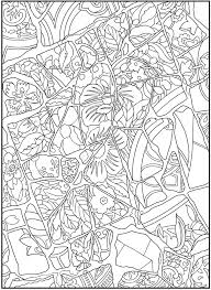 mosaic coloring pages nature coloringstar