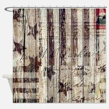 Americana Kitchen Curtains by Americana Shower Curtains Americana Fabric Shower Curtain Liner