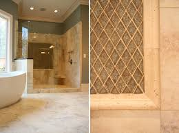 affordable beige small bathroom tile shower ideas with black cool