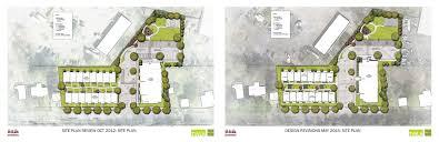 site plan design ithaca builds inhs quarry apartments revised site plan