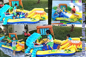 Inflatable Pool Target Intex Dinosaur Play Center Summer Fun Play Time Liam And