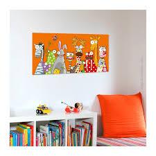 tableau chambre bébé tableau enfant les animaux déco décoration chambre bébé