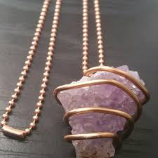 amethyst crystal necklace images Amethyst crystal necklace outlier wellness jpg
