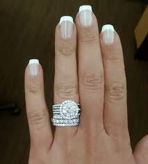 3 karat engagement ring 3 carat engagement ring and wedding band rings