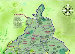Map Of Mexico City by Mexico City Ambles Mexico City U0027s Original Villages Introduction