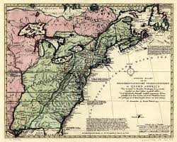 Map Of Nirth America by Of North America In 1700 U0027s