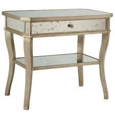 nightstand simple table ideas photo enchanting unusual glass