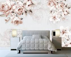White Rose Bedroom Wallpaper Online Get Cheap Wallpaper Lily Rose Aliexpress Com Alibaba Group
