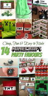 minecraft party favors how to host a cheap minecraft birthday party with printables