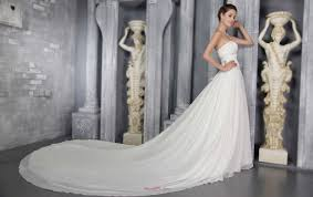 selling wedding dress sheath princess cathedral chiffon wedding gown