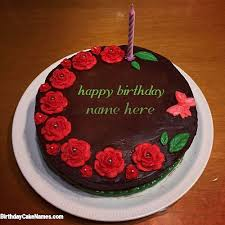candle cake birthday wishes for sister with name