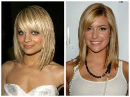 long bob haircuts with bangs medium hair styles ideas 31589