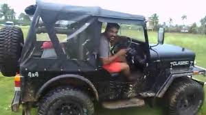 mahindra jeep 2016 offroading with wife on my mahindra classic jeep youtube