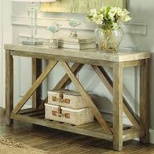 Marble Top Entryway Table Dining Room Decorations Foyer Table Granite Top Driftwood Foyer