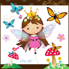 butterfly clipart collection