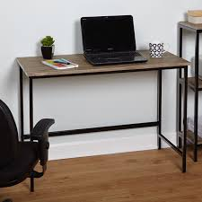 simple living piazza wood and metal desk overall dimensions 30