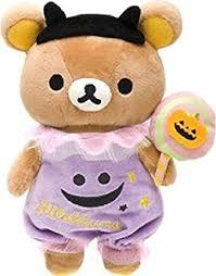 amazon com san x rilakkuma halloween plush toys u0026 games