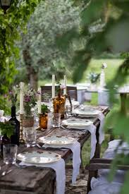 Dining Table Set Up Images Beautiful Garden Set Up Tablescape Idea For Outside Event